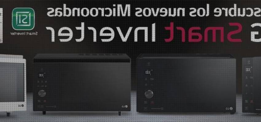 Mejores 11 microondas inverter con grill